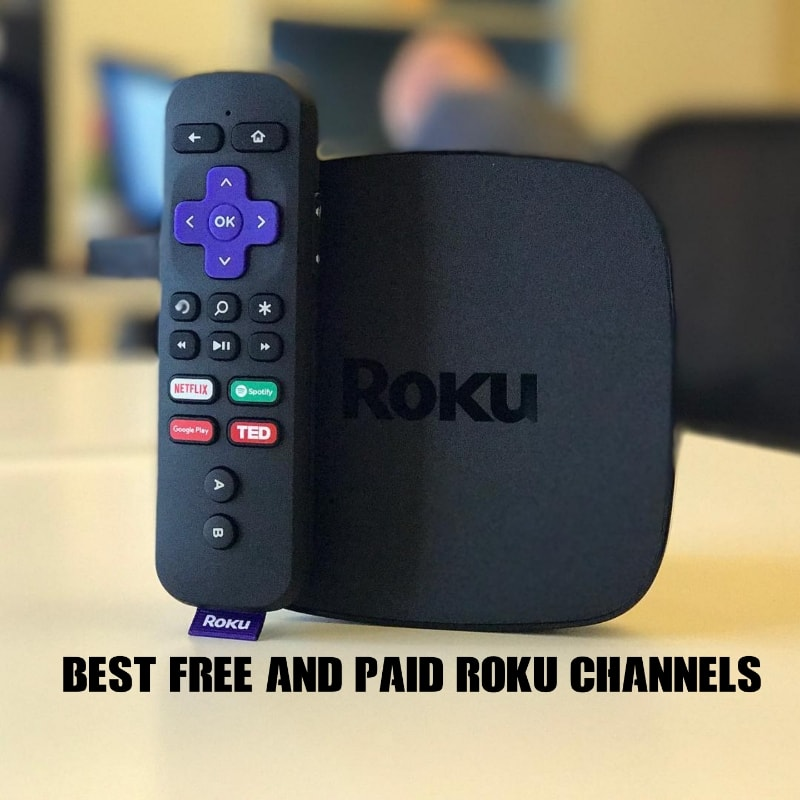 Top 20 Best Paid and Free Roku Channels