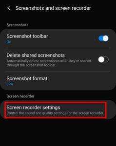 How to Screen Record in Samsung S10 Series, S9 & Note 10 (Android 10)